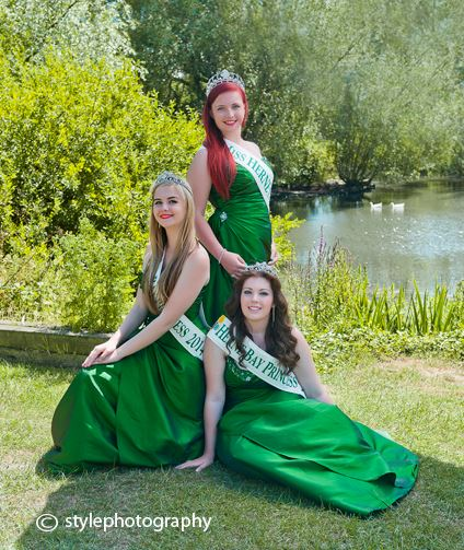 The 2014 Herne Bay Carnival Court on location