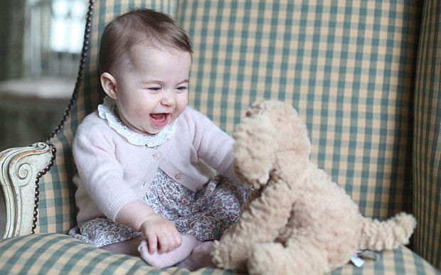 Princess charlotte baby photo