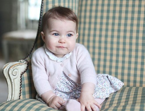 Baby photography, princess-style…