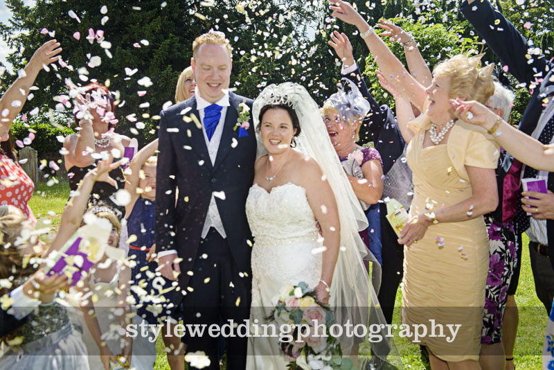 wedding at Aylesford Church by Style PHotography