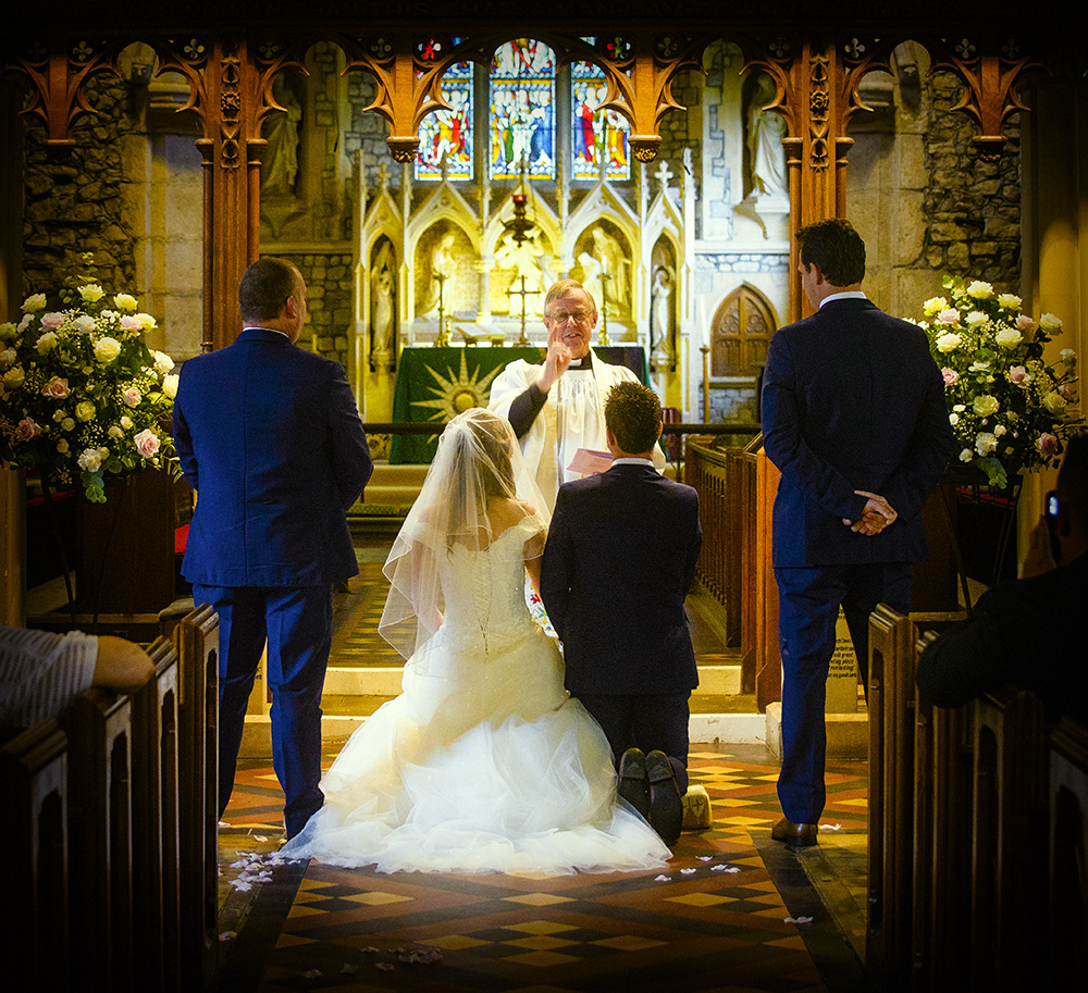 Wedding At St Peter's Church, Boughton Monchelsea And