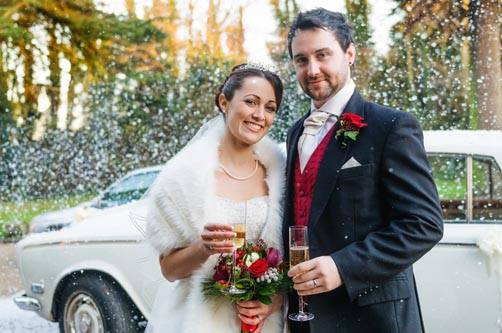 If you love Christmas, why not plan a festive wedding to add to the joy?
