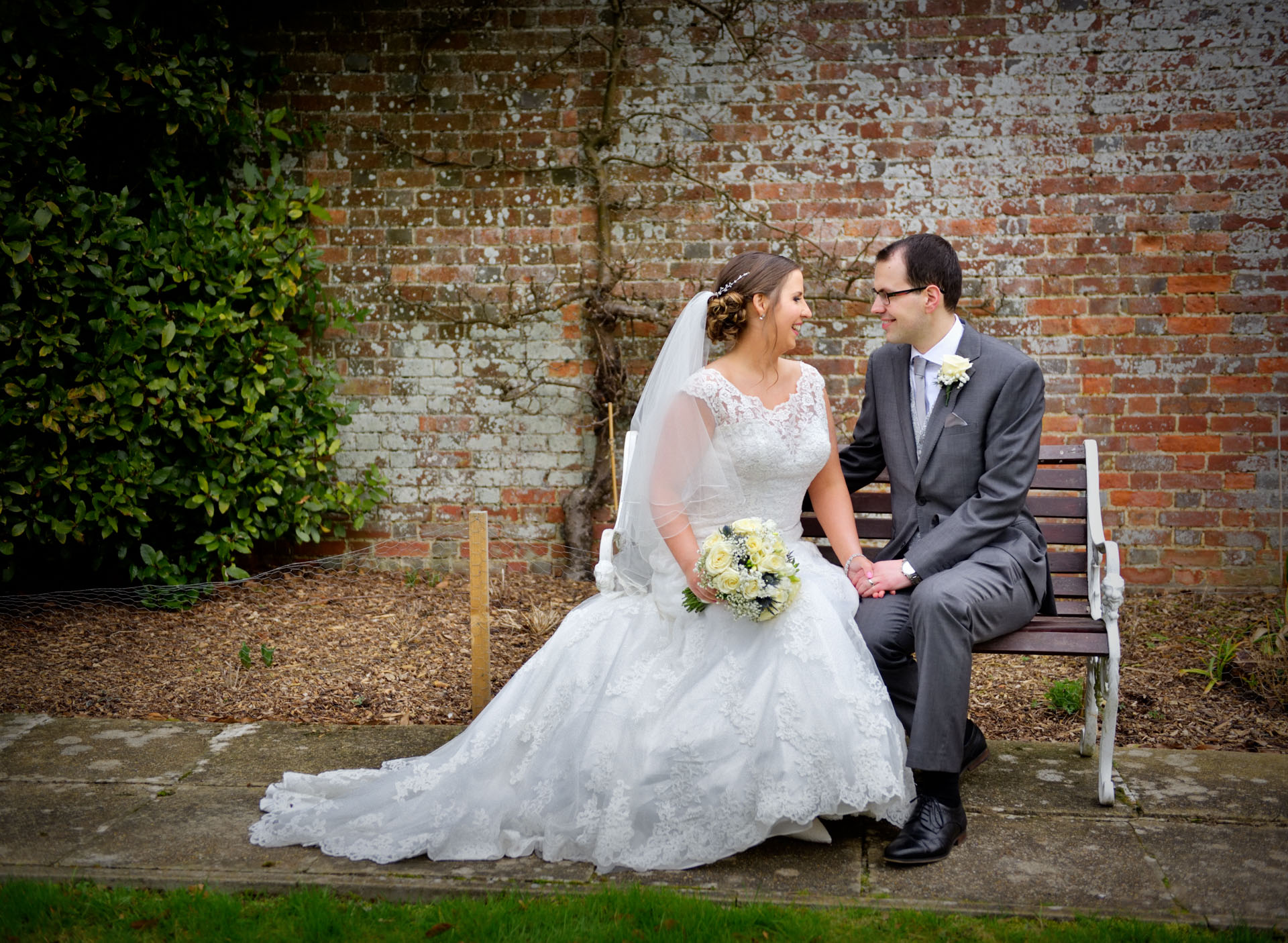 Hadlow Manor Hotel Wedding with Ceremony at Corpus Christi Tonbridge