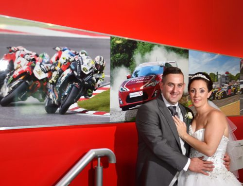 Wedding at Brands Hatch – Chloe and Graham