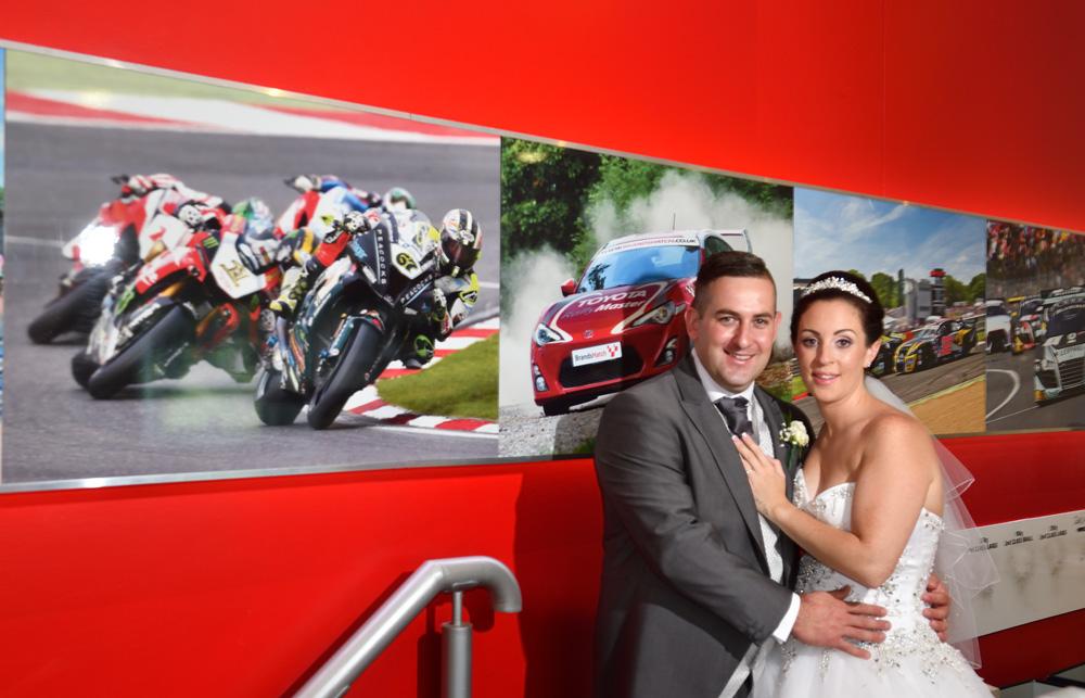 Wedding at Brands Hatch – Chloe and Graham