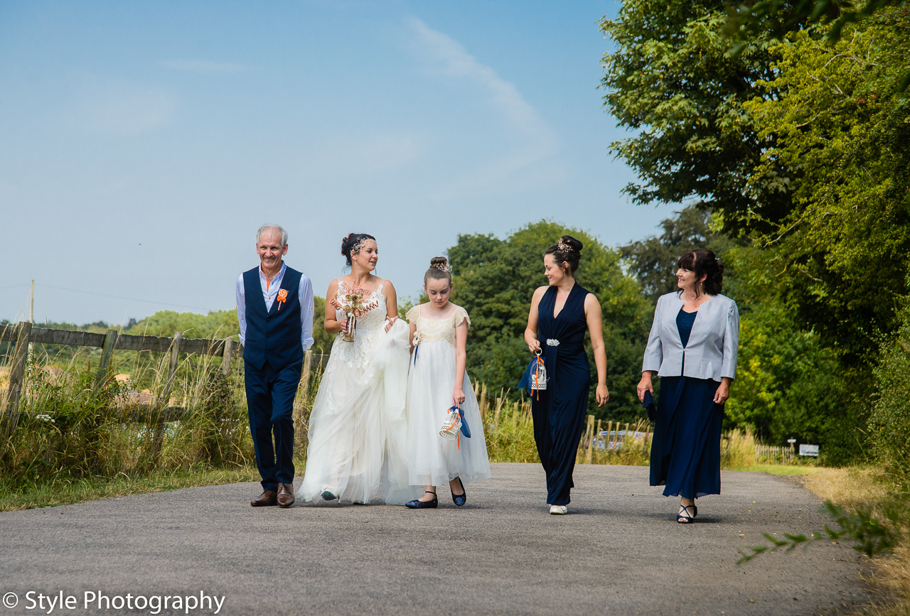 Beautiful country garden wedding at St Peters & St Pauls Church, Eythorne and Elvington Court Nursery