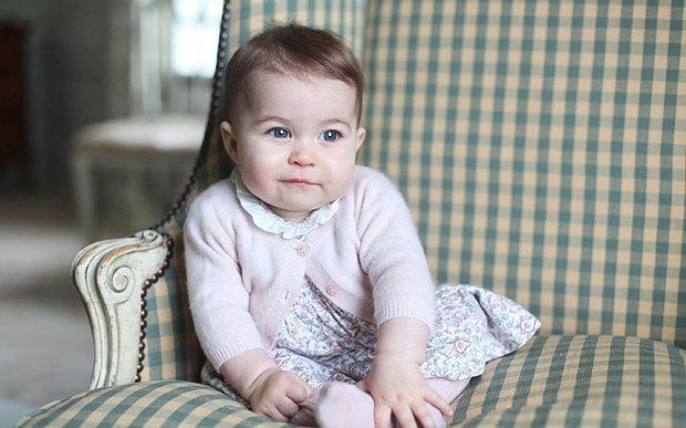 Princess Charlotte aged six months