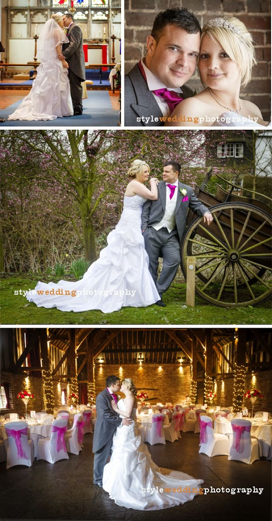 Claire and Jermaine wedding celebrations at Cooling Castle Barn