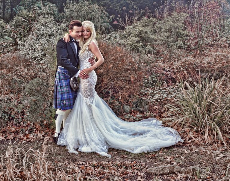 Beautiful winters wedding at St. Augustines Priory, Bilsington and St Peters and St Pauls Church Ash
